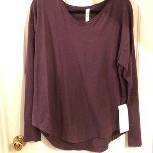 NWT, Lululemon Long Sleeve Top Size 12